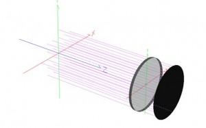 X-polarizer raytrace
